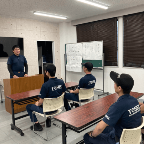 法律で定められた警備員教育